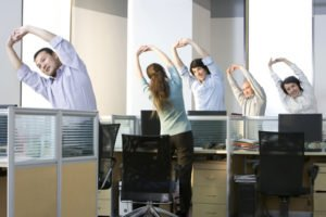 Professeur de sport en entreprise, stretching en entreprise
